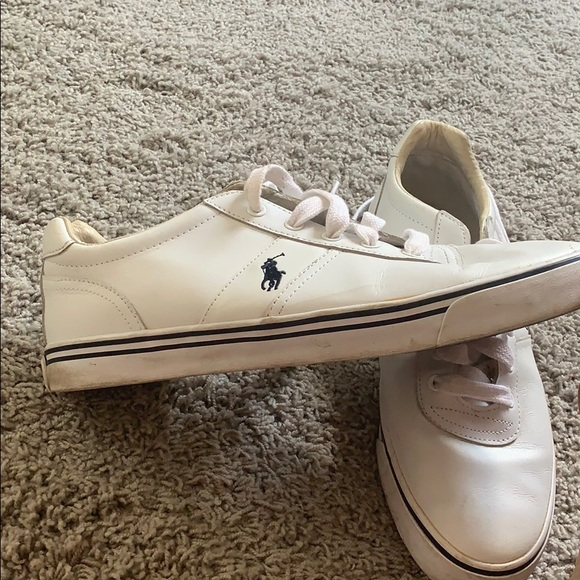 polo ralph lauren white court 1 lux trainers